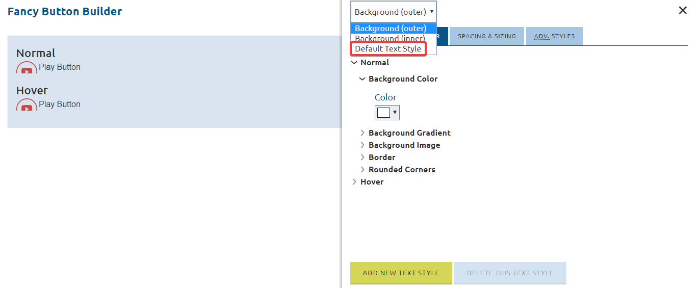 Change Fancy Button Font Style – CivicEngage Help Center